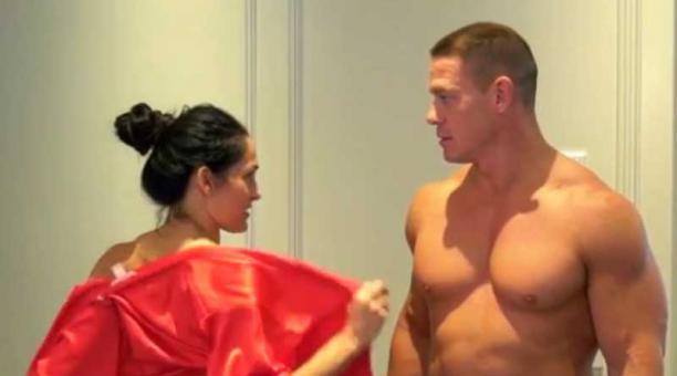 John Cena y Nikki Bella como nunca los habías visto