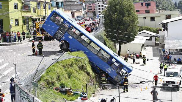 Bus accidente video
